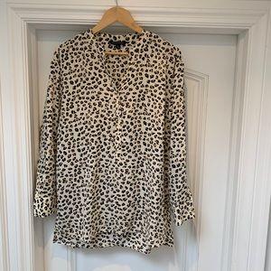Zac & Rachel Leopard Blouse - Oversized M